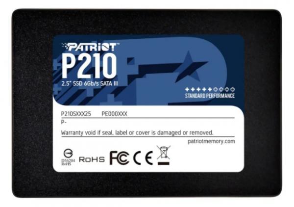 "Patriot 512GB 2,5"" SATA SSD P210"