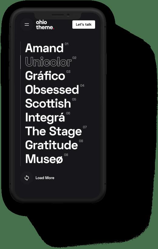 Custom Theme Settings